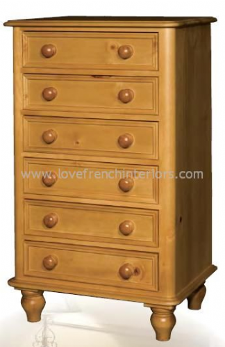 Juline Bespoke 6 Drawer Chest 'A'